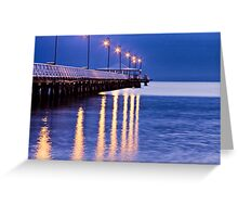 Just before dawn  Greeting Card