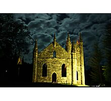 The Haunted Ruins Photographic Print