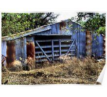 Rusty Barn      ( BoneYard Series ) Poster