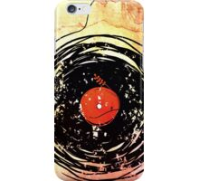 Enchanting Vinyl Records Grunge Art  iPhone Case/Skin