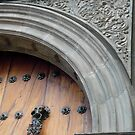 Door corner of El Sagrario (Details of Quito) by Michelle Falcony