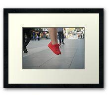Nike City Framed Print