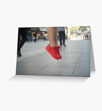 Nike City Greeting Card