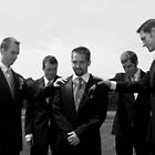 Groomsmen's Support by Brittany Kinney