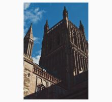 Worcester Catherdral tower Kids Clothes
