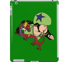 A Girl Worth Fighting! iPad Case/Skin