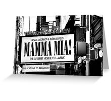 MAMA MIA! Greeting Card