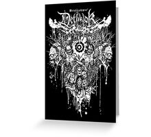 Dethklok Metalocalypse Shirt Greeting Card