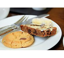 Cake & Biscuits Photographic Print
