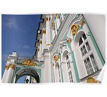 Hermitage Museum Saint Petersburg Poster