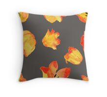 - Yellow tulips patter 2 - Throw Pillow
