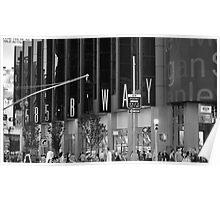 585 Broadway, New York Poster