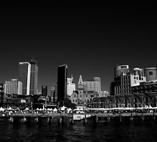 Campbell's Cove in B&W by TheSpaniard