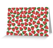 Lots of Strawberries Greeting Card