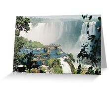 Iguazu Greeting Card