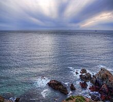 Some rocks, Some Water & Some Clouds - Alderney by NeilAlderney