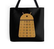 Droidarmy: Dalek - Dalek Gold Sticker Tote Bag