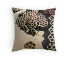Broken Pattern Throw Pillow
