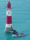 Boat Trip to Beachy Head Lighthouse by Colin J Williams Photography