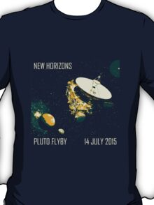 New Horizons Pluto Flyby 14 July 2015 T-Shirt
