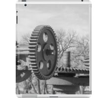 Wheels and Time  iPad Case/Skin
