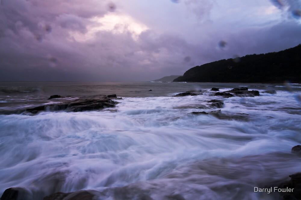 Wet Winter Wonderland,Big Hill,Great Ocean Road. by Darryl Fowler