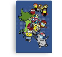 Assemble Minions Age of Ultrion Canvas Print