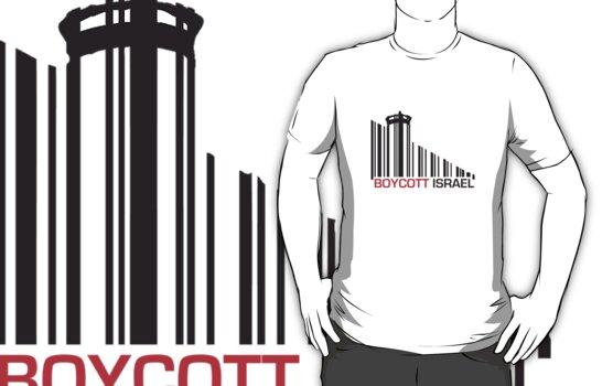 Boycott Israel (wall version) by vrangnarr