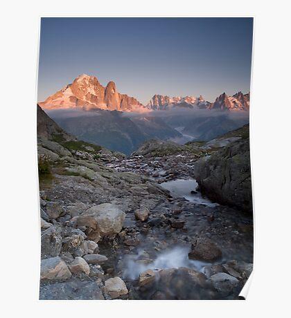 Massif du Mont Blanc Poster
