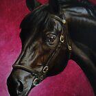 Sponeck, Trakehner Stallion by Jean Farquhar