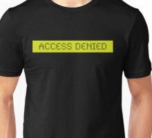 LCD: Access Denied Unisex T-Shirt