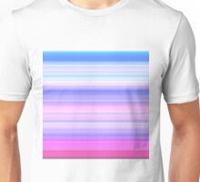 122. Spring-Summer Colour Stripes Unisex T-Shirt