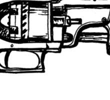 Revolver Sticker