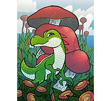 Yoshi of the Mushroom Kingdom Photographic Print