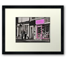 Lexi Loves... Framed Print