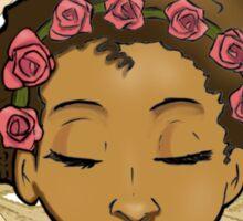 Afro Flower Sticker