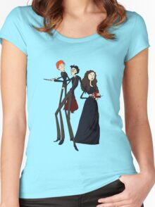 Tim Burton's Potter Women's Fitted Scoop T-Shirt