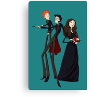 Tim Burton's Harry Potter Canvas Print
