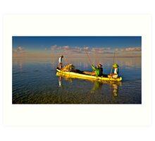 Sanur Fishing Launch Art Print
