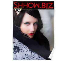 Shhow Biz Victorian Geisha Poster