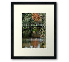 Old Cart Bridge,Seven Creeks, Euroa Framed Print