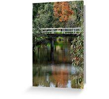 Old Cart Bridge,Seven Creeks, Euroa Greeting Card