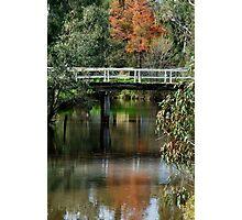 Old Cart Bridge,Seven Creeks, Euroa Photographic Print