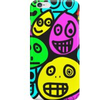 smiley's five iPhone Case/Skin