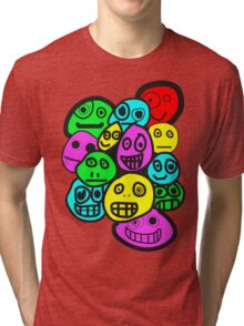 smiley's five Tri-blend T-Shirt