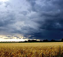 Thunderstorm in England by gfairbairn