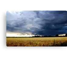 Thunderstorm in England Canvas Print