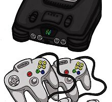 Videogame console #5 by Jazmine Phillips
