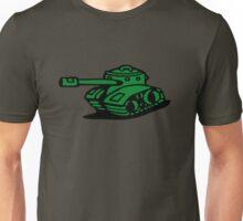 war battle tank army cartoon Unisex T-Shirt