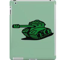 war battle tank army cartoon iPad Case/Skin
